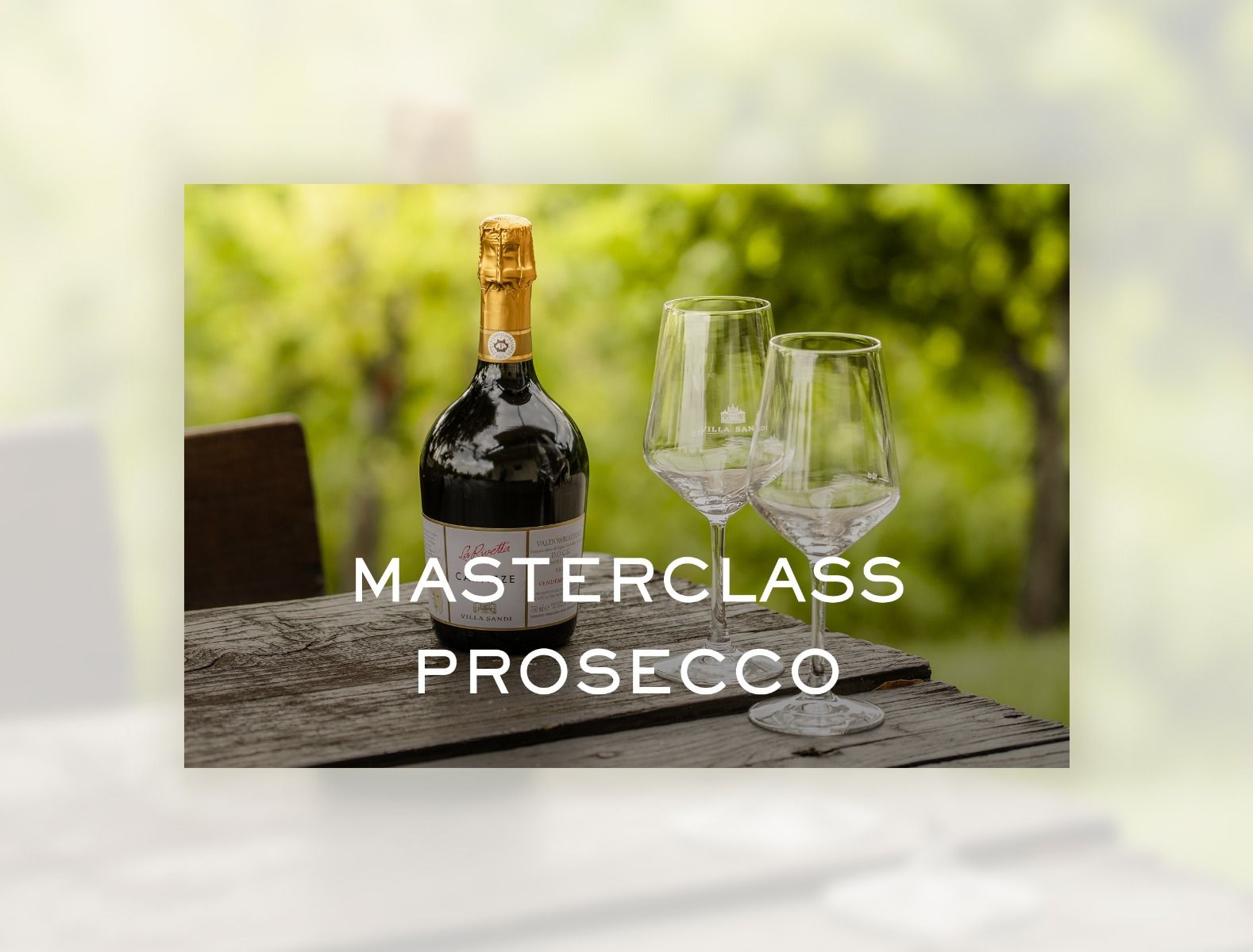 Masterclass Prosecco