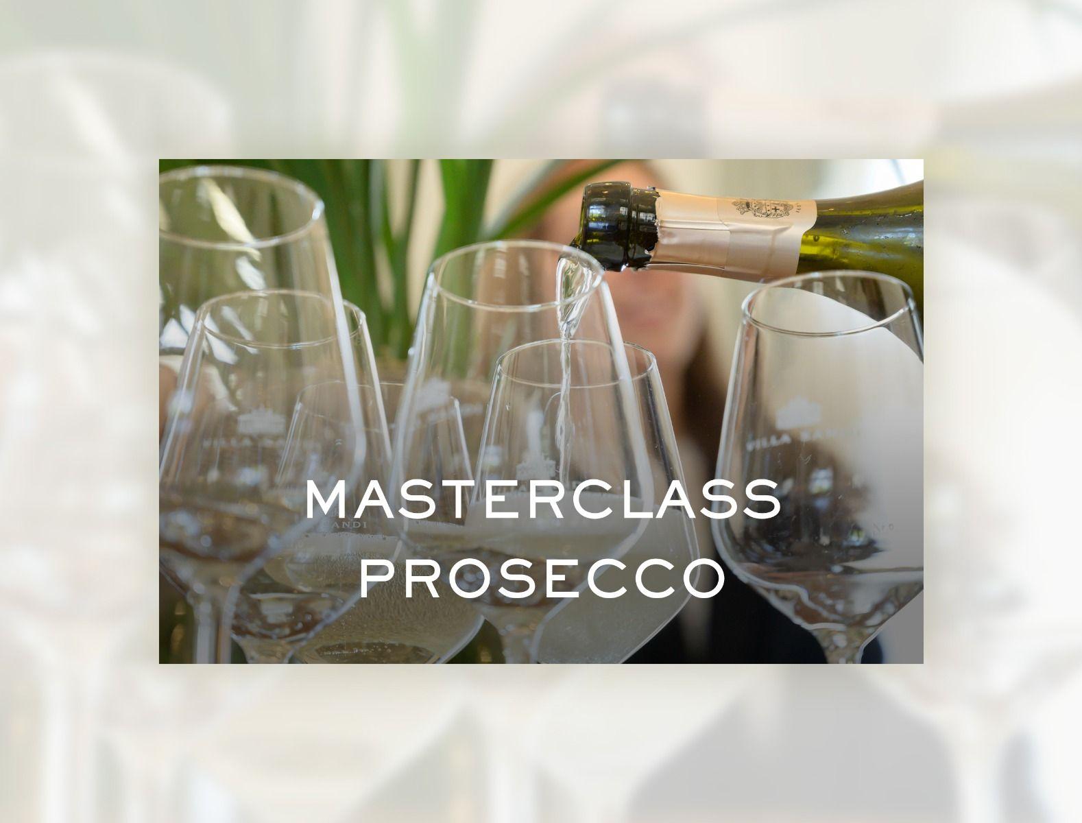 Esperienza Masterclass Prosecco