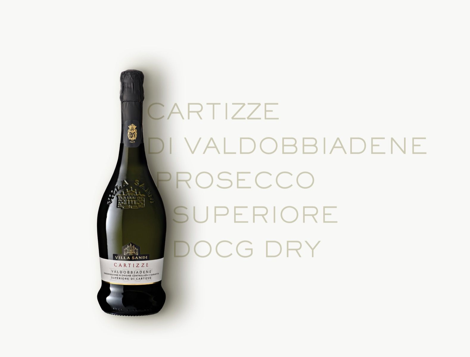 Sparkling wine produced in D.O.C.G. regions, Dry.