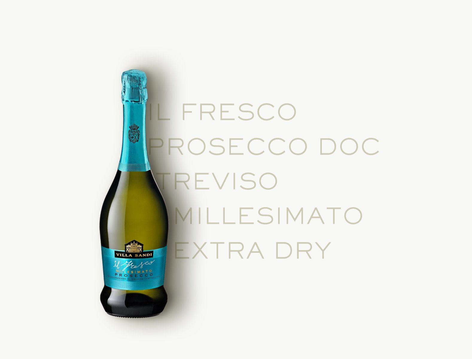 Il Fresco Prosecco DOC Treviso Millesimato Extra Dry