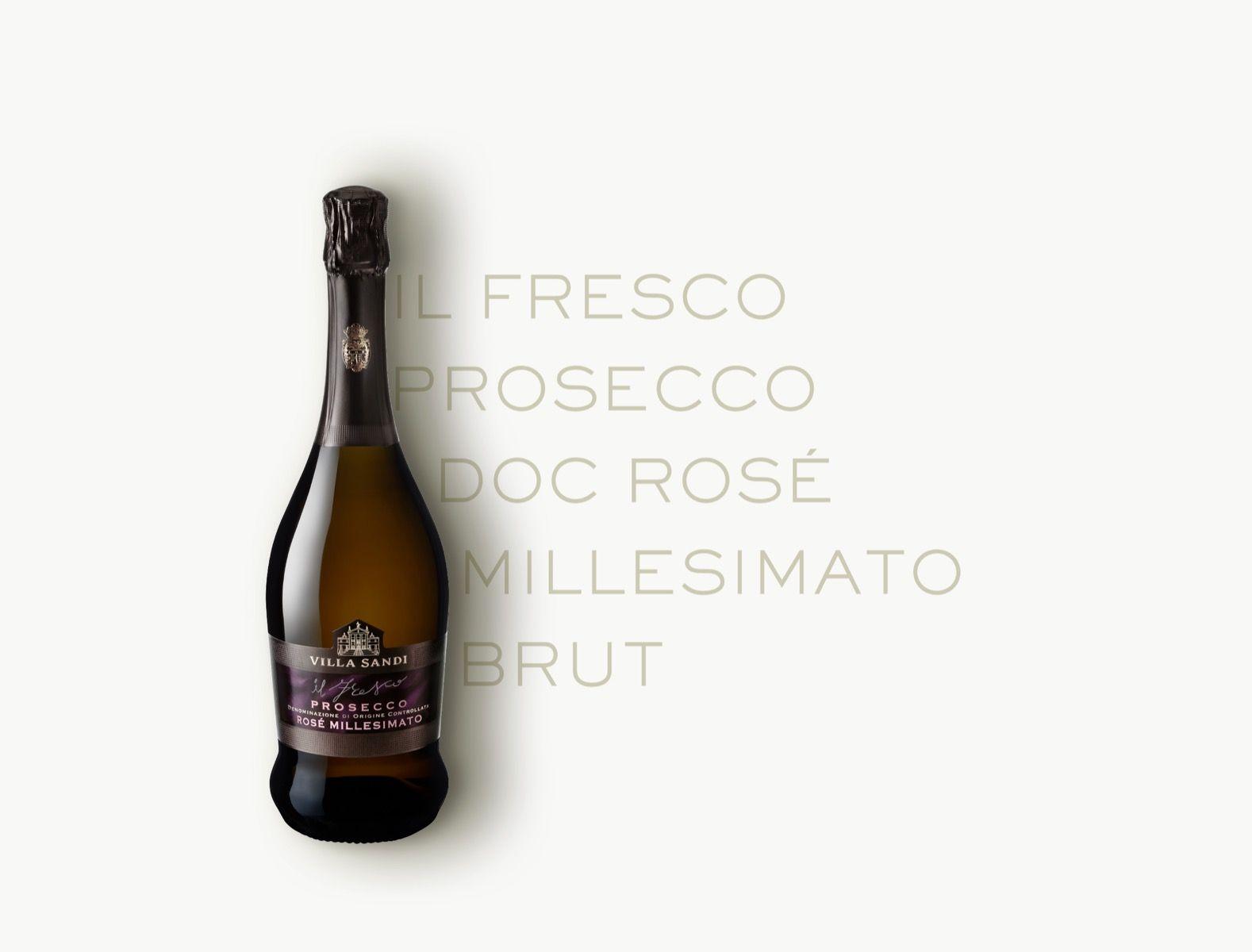 Il Fresco Prosecco DOC Rosé Millesimato Brut